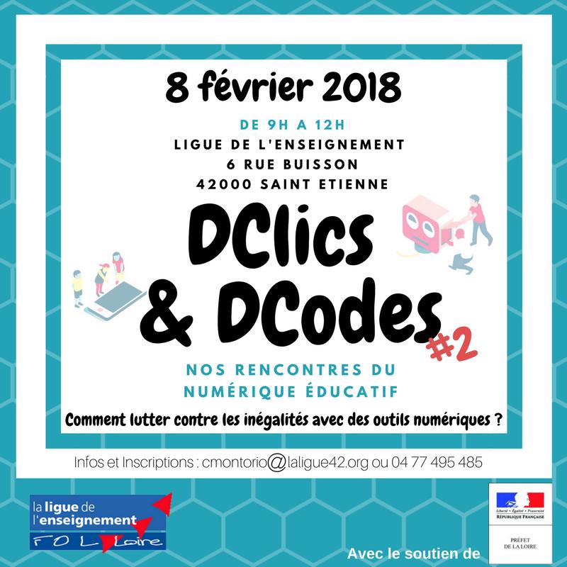 DCLICS DCODES 8FEV