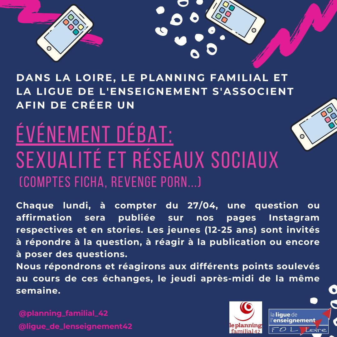 Débat - Sexualité et réseaux sociaux