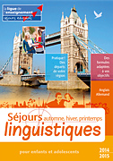sejour linguistique 2014-2015